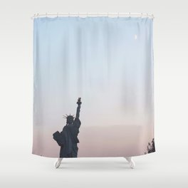 La Liberté Pour Tous Shower Curtain