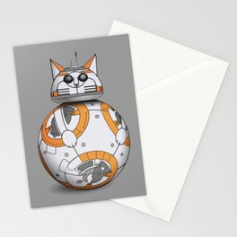 bb-cat (bb-8 cat) Stationery Cards