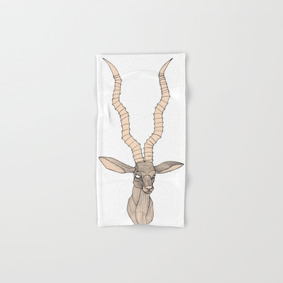 Antelope Trophy Hand & Bath Towel