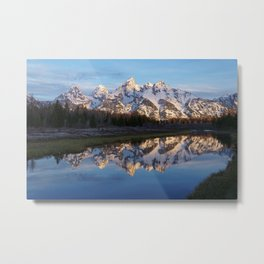 Cold & Clear Metal Print