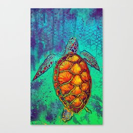 Swim in Eternal Seas Canvas Print