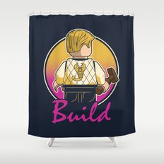 A Real Mini Hero Shower Curtain