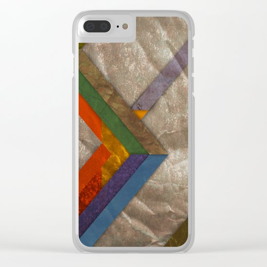 Abstract #269 Clear iPhone Case
