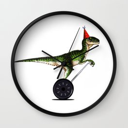 Eureka! (Now with extra party) Wall Clock
