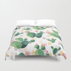 Cactus Drops Duvet Cover