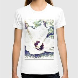 The Art Of A Hibiscus Flower T-shirt