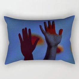 Nothing's Gonna Hurt You Baby Rectangular Pillow
