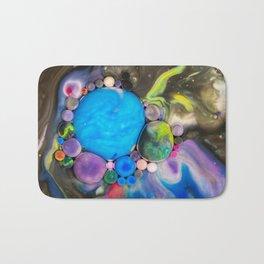 Bubbles-Art - Chocolate river Bath Mat