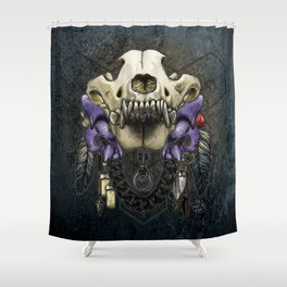 Let Us Prey: The Wolf Shower Curtain