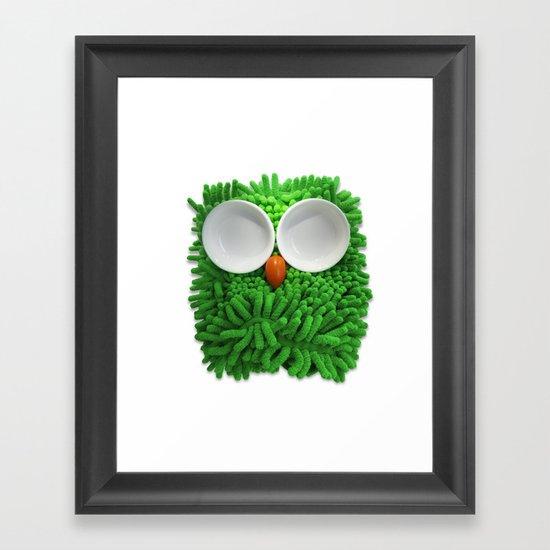 Hootie the House Owl! Framed Art Print