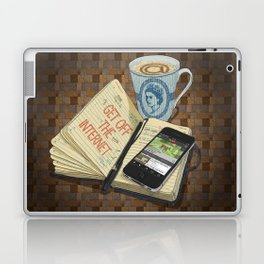 Internet Addict Laptop & iPad Skin