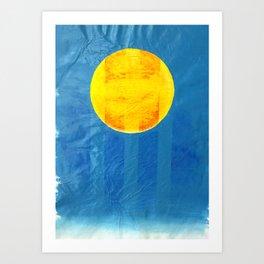 Blister- Acrylic on Paper Art Print