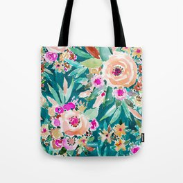 GOOD LIFE Colorful Floral Tote Bag