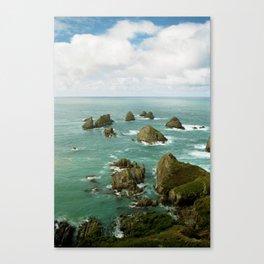 Where two oceans meet Canvas Print