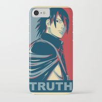 sasuke iPhone & iPod Cases featuring Sasuke - Truth by KingSora