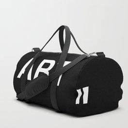 """ Art "" (Negative) Duffle Bag"