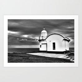 Tacking Point Lighthouse Art Print