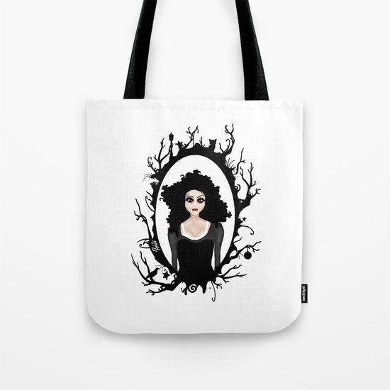 I keep my dark thoughts deep inside. Tote Bag