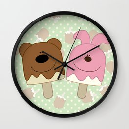 Candy bar Wall Clock