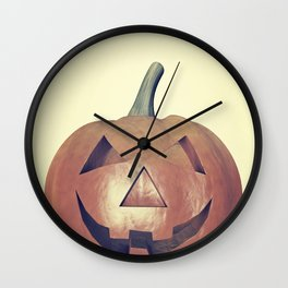 Smile Head  Wall Clock