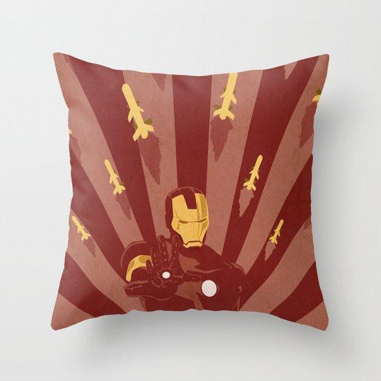 The Playboy Philanthropist  Throw Pillow