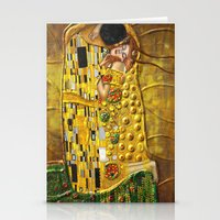 klimt Stationery Cards featuring My Klimt by Müge Başak
