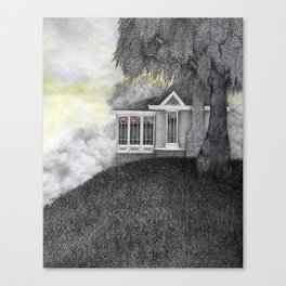 Willow House Canvas Print