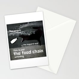 food chain 1 Stationery Cards