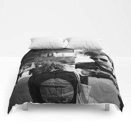 Love and Concrete (Cronies) Comforters