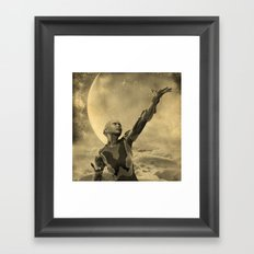Ode to the Creator Framed Art Print
