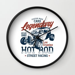 HotRod Wall Clock