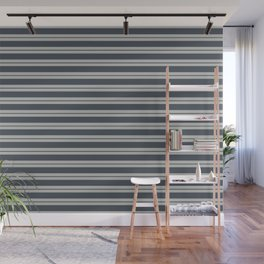 Benjamin Moore 2019 Trending Color Hale Navy Blue Gray HC-154 and Color of the Year 2019 Metropolita Wall Mural
