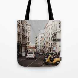 The streets of Vienna Tote Bag