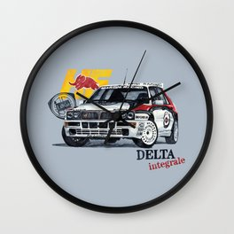 Lancia Delta Integrale Wall Clock