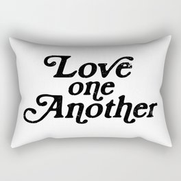 Love one Another Rectangular Pillow