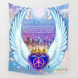 Return to Paradise Mission Wall Tapestry