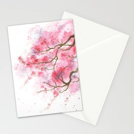 Blossom Peach Flowers Stationery Cards