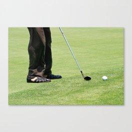 Golf Feet Canvas Print