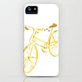 Golden Rider iPhone Case