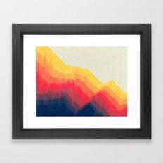 Sounds Of Distance Framed Art Print