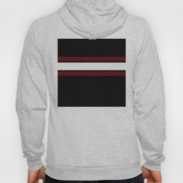 Team Colors...Maroon and white stripeswith black Hoody