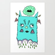 Murciélago#3 Art Print