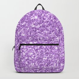 Purple Glitter Backpack