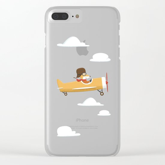 Mr. Fox is Flying Clear iPhone Case