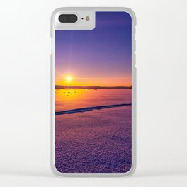 So quiet but so relaxing Clear iPhone Case