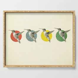 The Hummingbird Dance Serving Tray