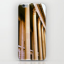 Lovely Columns (Yale, CT) iPhone Skin