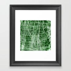 RAYURES Framed Art Print