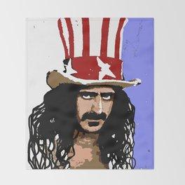 Zappa Throw Blanket
