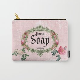Pink Soap Carry-All Pouch